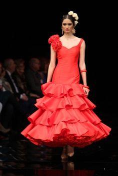 Traje de Flamenca - Luis-Fernandez - Simof-2017 Victorian, Disney Princess, Disney Characters, Dresses, Fashion, Vestidos, Spain, Events, Flamenco Dresses