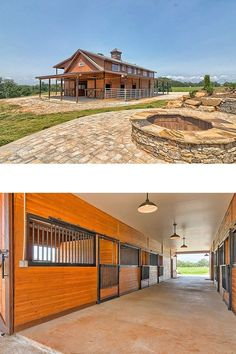 Tour a beautiful barn apartment in South Carolina Horse Stables, Horse Barns, Equestrian Stables, Barn With Living Quarters, Horse Property, Dream Barn, Equestrian Outfits, Equestrian Fashion, Barn Plans