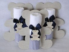 More and more crafts: 15 tender ideas for souvenirs or memories of baby shower Recuerdos Baby Shower Niña, Baby Shower Favors, Shower Party, Baby Shower Parties, Baby Boy Shower, Baby Shower Gifts, Baby Shawer, Baby Kit, Do It Yourself Baby