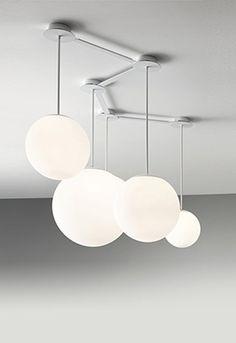 Multiball Floating Spheres  Designer: Roberto Paoli