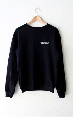 West Coast Sweater - Black
