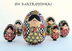 [Make] Matryoshka Nesting Eggs // Part 2