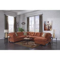 coaster natalia contemporary sectional sofa | space saving