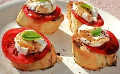 Bruschetta always a good choice~
