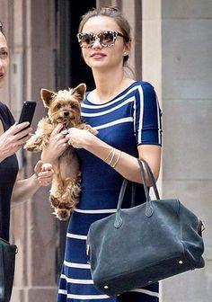 Miranda Kerr and her super cute dog!