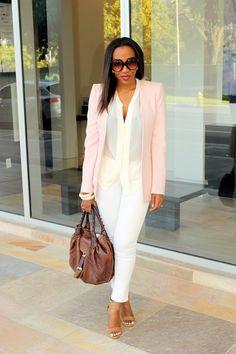 blazer on white