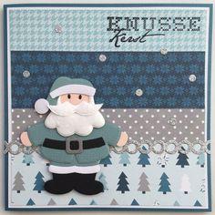 LindaCrea: Kerst 2015 - Santa & Het Eindresultaat