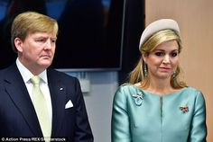 King Willem-Alexander and Queen Maxima visiting the European Energy Exchange (EEX) in Leipzig