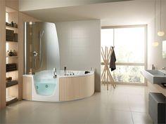 Badewanne mit dusche