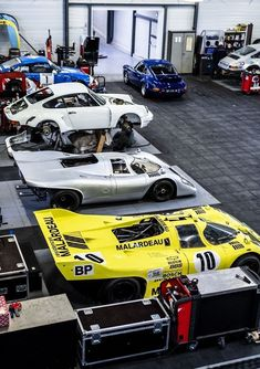 Preparing Porsche's greatest racing cars at Crubilé Sport in France Martini Rossi, France, Love Drive, Engine Block, Famous French, Father And Son, Le Mans, Porsche 911, Peugeot