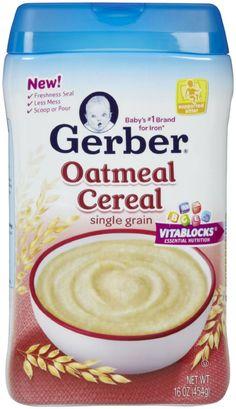 Gerber Oatmeal Cereal