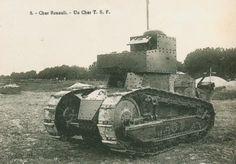 Carte Postale Postcard 1914-1918 Char Renault un char TSF Renault tank a tank TSF | Flickr - Photo Sharing!