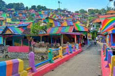 This Rainbow Village Is Honestly Such An Instagram Dream