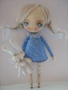 Scented handmade doll
