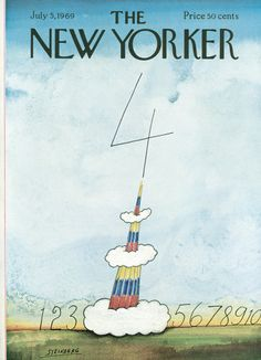 The New Yorker Magazine Cover View Of The World From Th Avenue - Famous new yorkers map of us