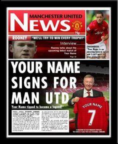 Soccer newspaper