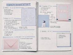 Imagen de college, planner, and bullet journal
