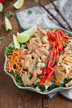 Thai Shrimp Salad (Applebee's Copycat) on MyRecipeMagic.com