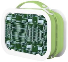 Circuit Board Lunch Box.