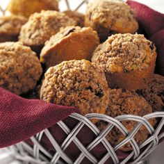Pumpkin Oat Muffins Recipe -It isn't considered Thanksgiving or Christmas in my house until these are on the table. Enjoy the flavors of pumpkin-pie in easy-to-eat muffin form. &mdashMrs. Carol Hale, Sarver, Pennsylvania