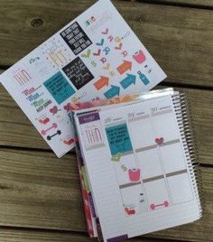 30+ Weight Loss Planner Stickers|Planner Accessory/Planner Stickers/ Bookmark/ Erin Condren/ Plum Paper Planner/ Filofax/ KikkiK/ Inkwell - pinned by pin4etsy.com