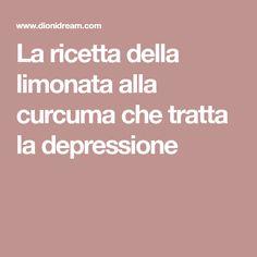 La ricetta della limonata alla curcuma che tratta la depressione