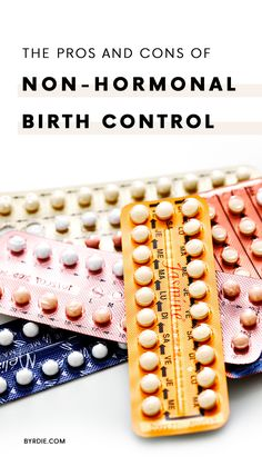 The benefits of taking hormonal birth control
