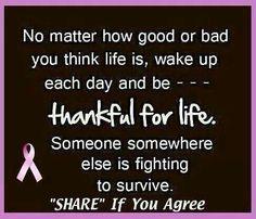 How true!