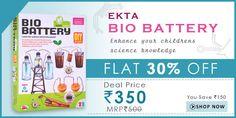 Take FLAT 30% OFF* on Ekta Bio Battery https://www.facebook.com/hakkunamatatta1/photos/a.498048920334151.1073741833.414423658696678/544275602378149/?type=1&permPage=1