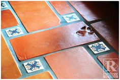 We are the leaders in Mexican Tile and Stone. Find out why we LOVE Mexican tile and why you should too! Learn about Saltillo, Cement tile, and Cantera Stone Ceramic Floor Tiles, Tile Floor, Mexican Ceramics, Patio Tiles, Spanish Tile, Tropical Decor, House Design, Flooring, Mexican Tiles