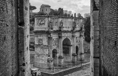 Arch Of Constantine by Pablo López