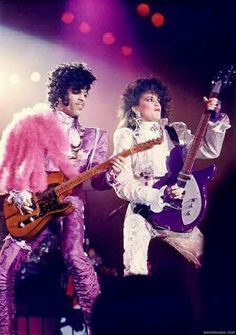 Prince Purple Rain Tour, 1984-1985.