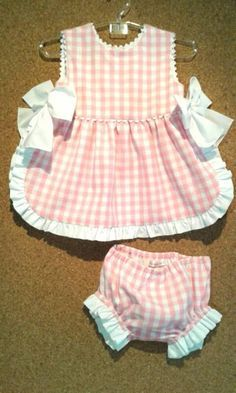 Sewing Baby Girl Projects Dress Patterns 27 Ideas - Baby Girl Dress - Ideas of Baby Girl Dress Baby Outfits, Little Dresses, Little Girl Dresses, Kids Outfits, Girls Dresses, Infant Dresses, Dress Girl, Baby Dress Patterns, Doll Clothes Patterns