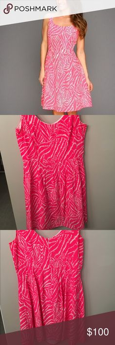 🎀EUC (worn once!!!) Lilly Pulitzer Posey Dress EUC Lilly Pulitzer Posey Dress size 12. Dress is 100% silk and drapes beautifully. Only worn once to a rehearsal dinner-snag this up while you can! True to size and perfect for spring and summer. Has clips to hold bra straps in place. Dress was never altered. Smoke free home. Retailed for $258!! Looks fabulous as is or with an accent belt! REASONABLE OFFERS CONSIDERED. Lilly Pulitzer Dresses