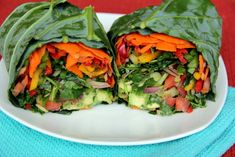 Enjoy a burrito recipe without all the unhealthy, heavy fillings with this raw version. Vegan Recipes Videos, Bean Recipes, Raw Food Recipes, Veggie Recipes, Diet Recipes, Vegetarian Recipes, Veggie Diet, Raw Food Diet, Veggie Meals