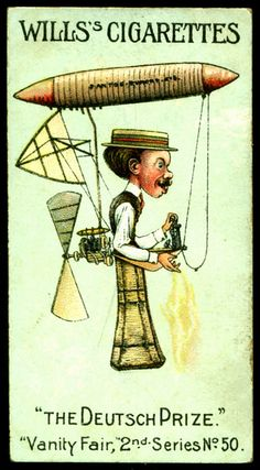 Cigarette Card - Mr Santos Dumont | Flickr - Photo Sharing!