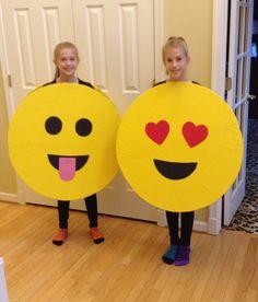Emoji costumes!