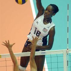 #usa #volleyball #meganhodge