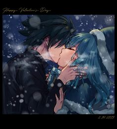Gray and Juvia Happy Valentines Day Fanfic Fairy Tail, Fairy Tail Juvia, Fairy Tail Gray, Fairy Tail Ships, Fairy Tail Anime, Juvia And Gray, Image Fairy Tail, Pin Up Illustration, Cartoon Ships
