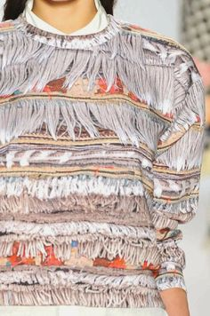 PRINTS, PATTERNS, TRIMMINGS AND SURFACE EFFECTS FROM NWY YORK FASHION WEEK (A/W 14/15 WOMENSWEAR) / 7 From New York womenswear catwalks, beautiful details and inspirations. Mara Hoffman