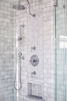 4 Prosperous Cool Tips: Large Shower Remodel bathroom shower remodel.Tub To Stand Up Shower Remodel fiberglass shower remodeling diy.Mobile Home Shower Remodel. Master Bathroom Shower, Small Bathroom With Shower, Small Showers, Bathroom Showers, Bathroom Ideas, Master Bathrooms, Tiled Bathrooms, Large Shower, Downstairs Bathroom