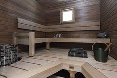 Sauna Ideas, Sauna Design, Finnish Sauna, Saunas, Wellness Spa, Country Style, Bathrooms, Relax, Windows