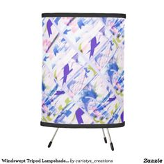 Illuminate your home with Tripod lamps from Zazzle. Choose from our pendant, tripod or table lamps. Find the right lamp for you today! Girls Bedroom, Bedroom Decor, Blue Tones, Tripod Lamp, Pendant Lamp, Table Lamp, Lighting, Table Lamps, Girl Bedrooms