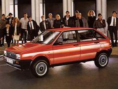 Seat Ibiza 5-door (1984 – 1991).