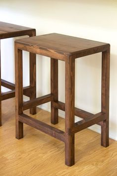 Simplest stool saddle back style do it yourself home projects 2 x 4 bar stools featuring jays custom creations diy projects solutioingenieria Gallery