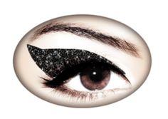 Violent Eyes - Jet Black Glitteratti