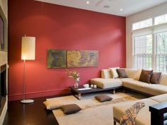 7 color mistakes to avoid red accent wallsred - Warm Wall Colors For Living Rooms