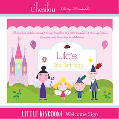 Customized Ben and Holly's Little Kingdom Digital by Chesilou