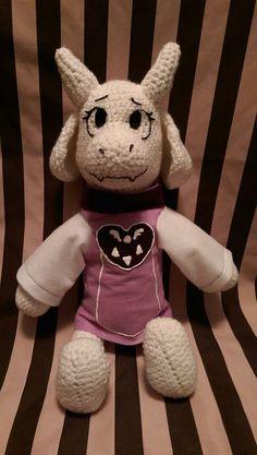 Undertale Toriel Goat Mom Crochet Amigurumi Plush by CuteDLoops