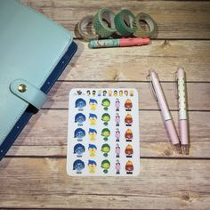 Inside Out Planner Stickers by BellaPlans on Etsy